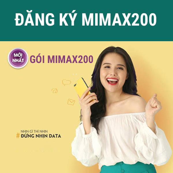 Cách đăng ký gói cước Mimax200 Viettel