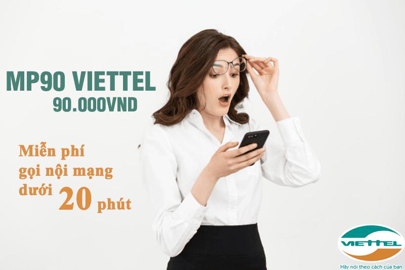 Cách đăng ký gói MP90 Viettel