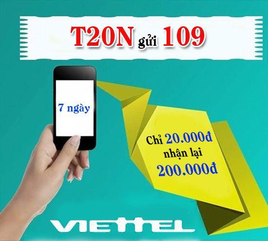 Cách đăng ký gói T20 Viettel