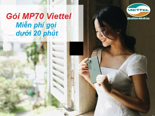 Gói cước Mp70 Viettel