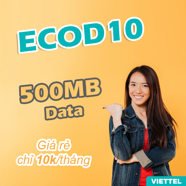 Gói ECOD10 Viettel
