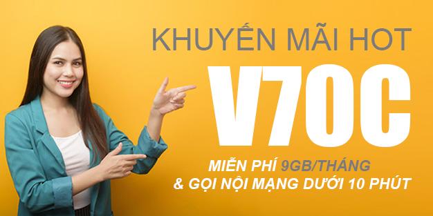 Cách đăng ký gói V70C Viettel