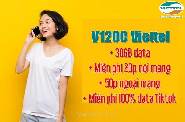 Gói cước V120C Viettel