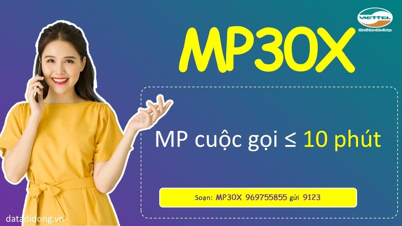 Cách đăng ký gói MP30X Viettel
