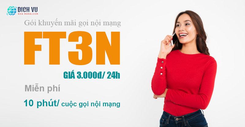 Cách đăng ký gói FT3N Viettel