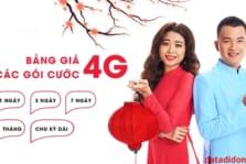 Đăng ký 4G/5G Viettel 1 tháng hay 1 ngày/ 3 ngày và 1 tuần
