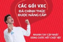Viettel điều chỉnh tăng lưu lượng các gói  VXC (V120C, V150C, V200C)